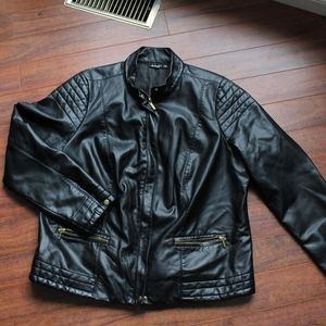 A.N.A faux leather jacket